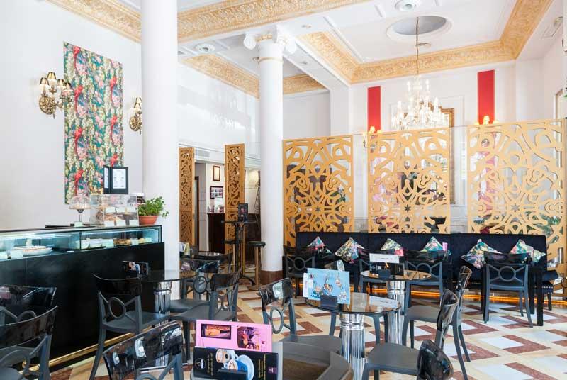 Café de l'hôtel à Séville