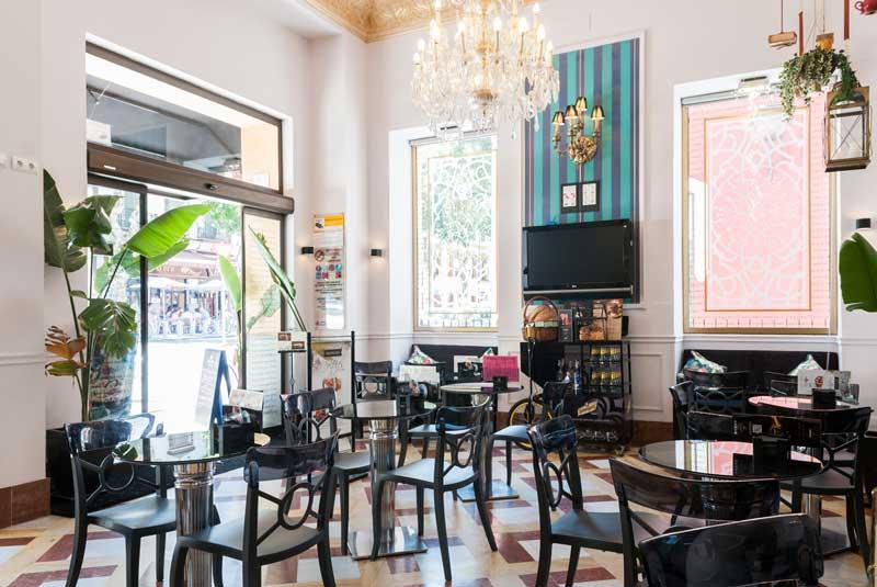 Pompeia café à Séville