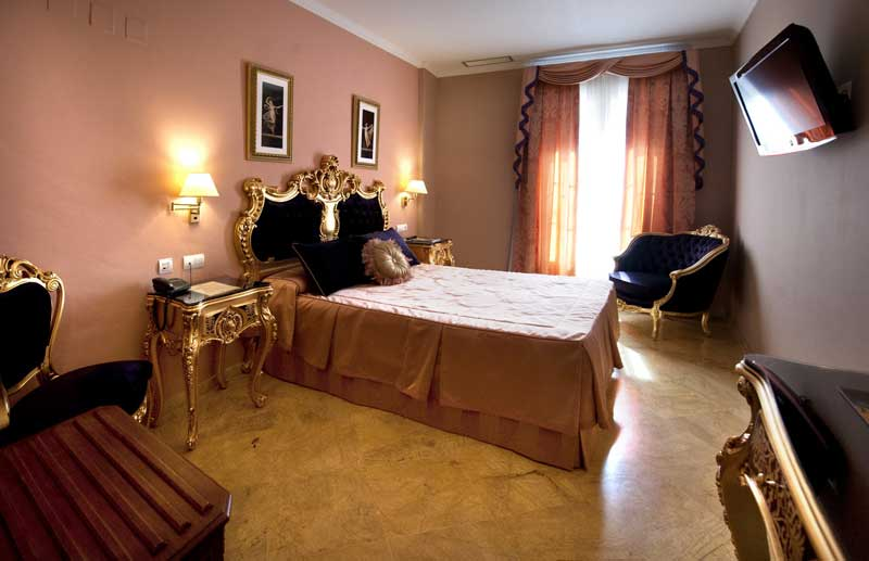 Superior camera d'albergo di lusso Siviglia