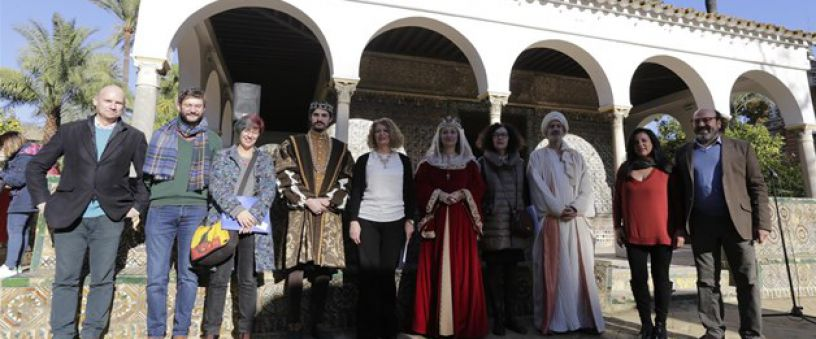 Christmas activities in the Real Alcazar