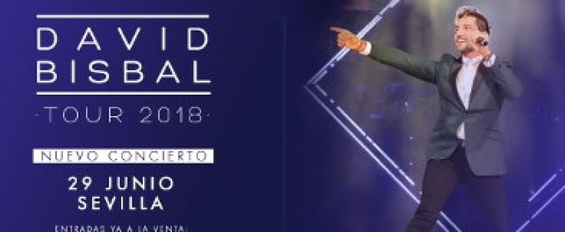 David Bisbal in Konzert in Sevilla