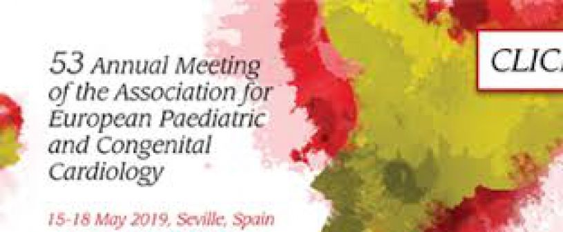 Annual Meeting of European Pediatric and Congenital Cardiology 2019