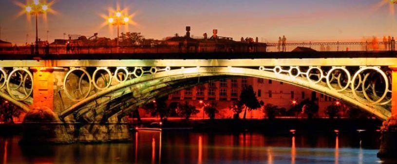 Le pont d'Isabel II de Séville
