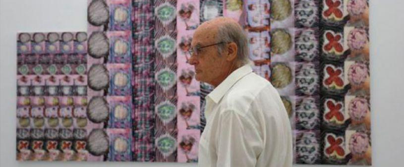 Luis Gordillo Ausstellung. Geständnis Allgemeine
