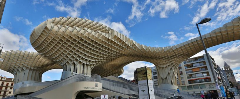Les champignons de Séville | Metropol Parasol