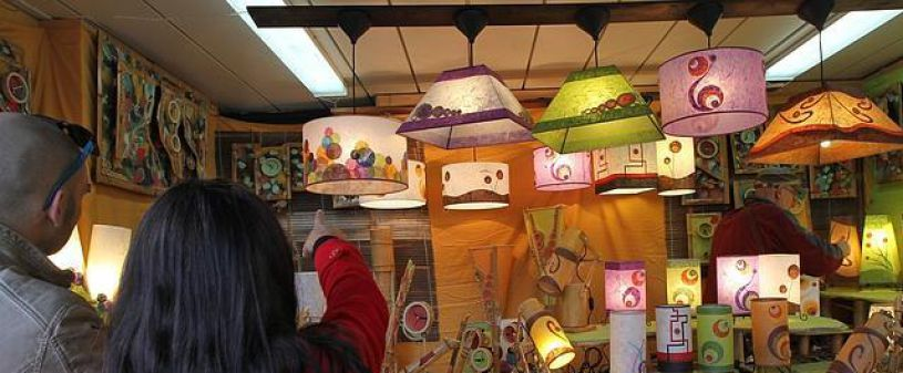 Christmas Craft Market in Seville