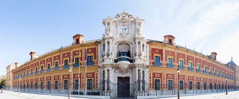 San Telmo Palast, Sevilla
