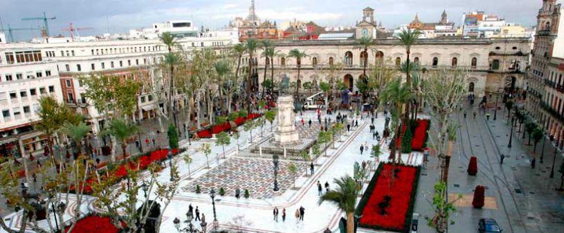 Plaza Nueva di Siviglia