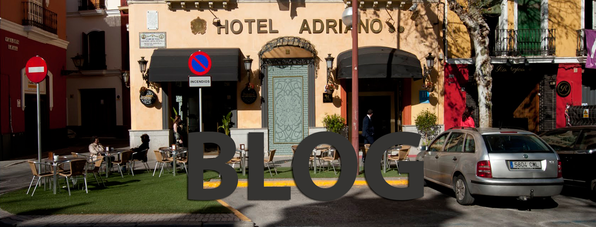 Hotel near the airport of Seville
