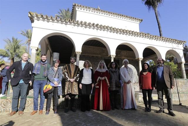 Weihnachtsaktivitäten in der Real Alcazar