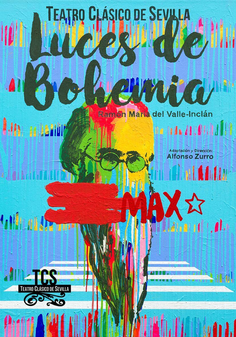 Luces de Bohemia en el Teatro Lope de Vega de Sevilla en octubre 2017