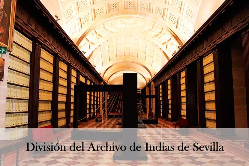 Comment les Archives des Indes de Séville sont-elles divisées