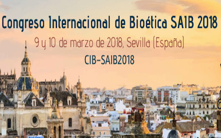 International Congress of bioethics SAIB 2018 in Seville