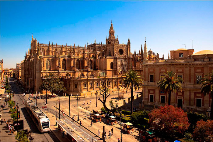 History of the Cathedral of Seville