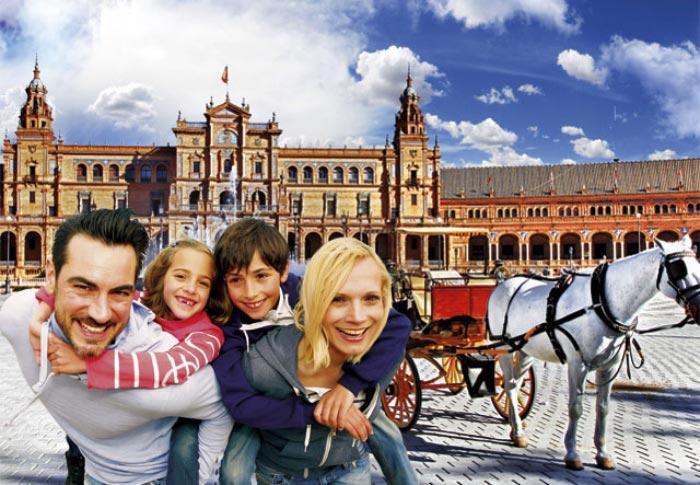 Sevilla, ciudad ideal para familias