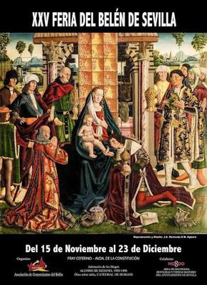 Ausgabe der Bethlehem-Messe in Sevilla