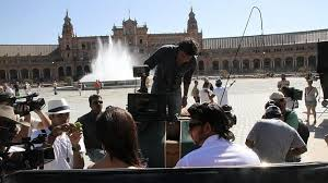 Shooting in the World. Seville and Action