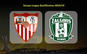 UEFA Europa League Sevilla gegen Zalgiris