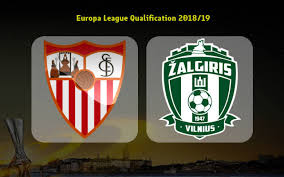 Лига Европы УЕФА Севилья ФК против Жальгириса