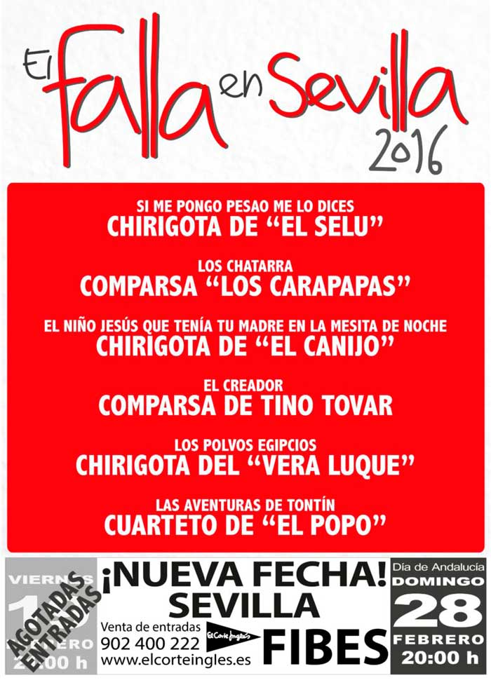 chirigotas en Sevilla