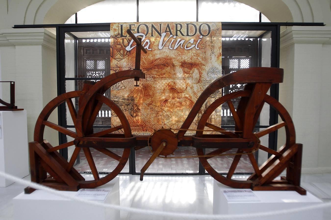 Leonardo Da Vinci bringt seine Erfindungen nach