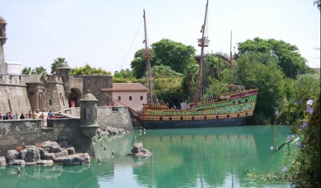 'Isla Mágica', Theme Park in Seville